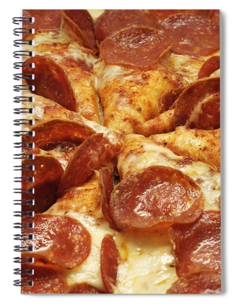 Pepperoni Pizza 1 Spiral Notebook
