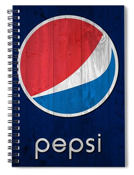 Pepsi Barn Sign Spiral Notebook