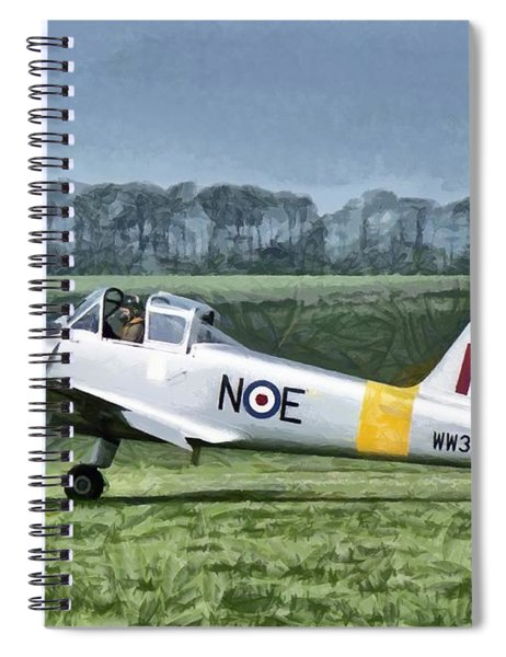Percival Provost T1 G-bkhp Spiral Notebook