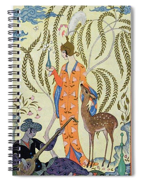 Persia Spiral Notebook