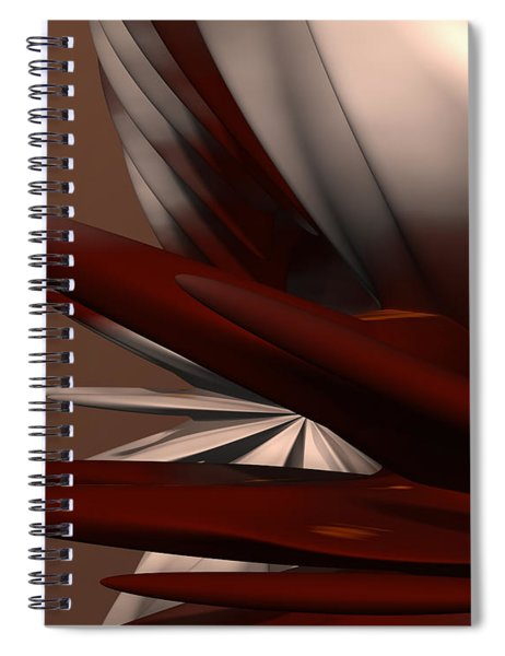 Petals And Stone 2 Spiral Notebook