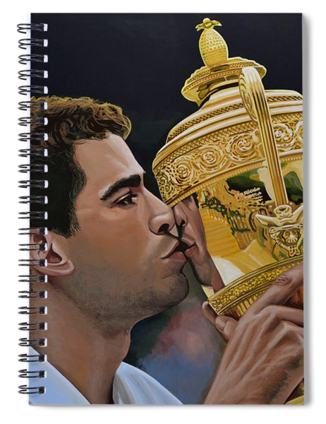Pete Sampras Spiral Notebook