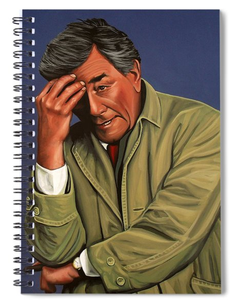 Peter Falk As Columbo Spiral Notebook