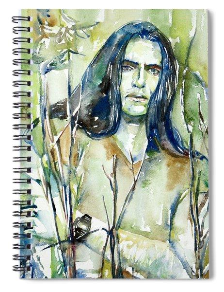 Peter Steele Portrait.1 Spiral Notebook