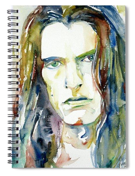 Peter Steele Portrait.4 Spiral Notebook