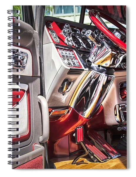 Peterbilt Interior Spiral Notebook