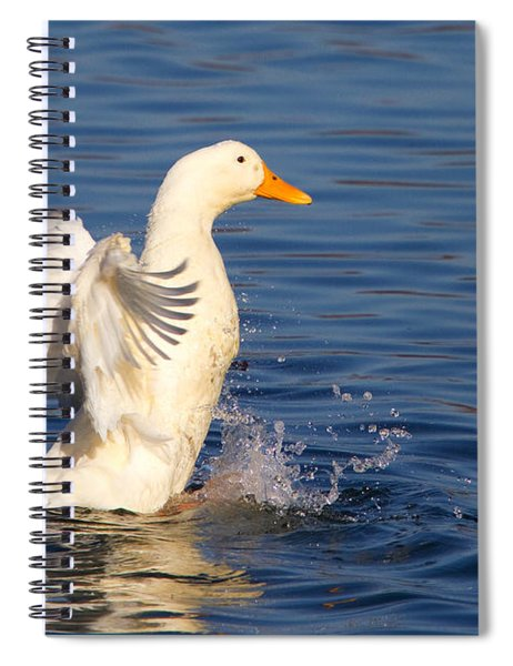Petkin Duck Spiral Notebook