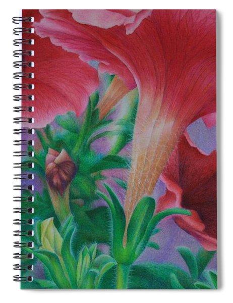 Petunia Skies Spiral Notebook