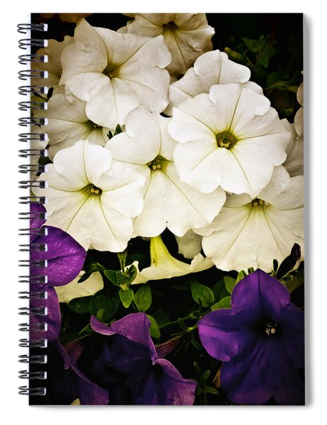Petunias Spiral Notebook