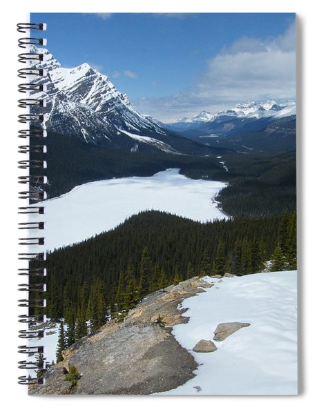 Peyto Lake - Icefields Parkway - Canada Spiral Notebook