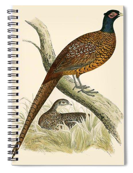 Pheasant Spiral Notebook