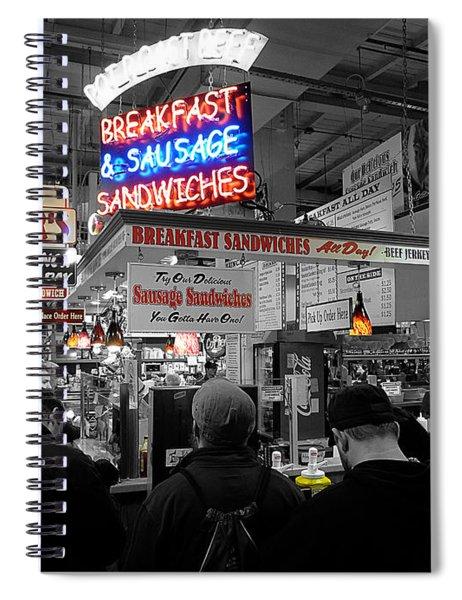 Philadelphia - Breakfast At Smucker's Spiral Notebook