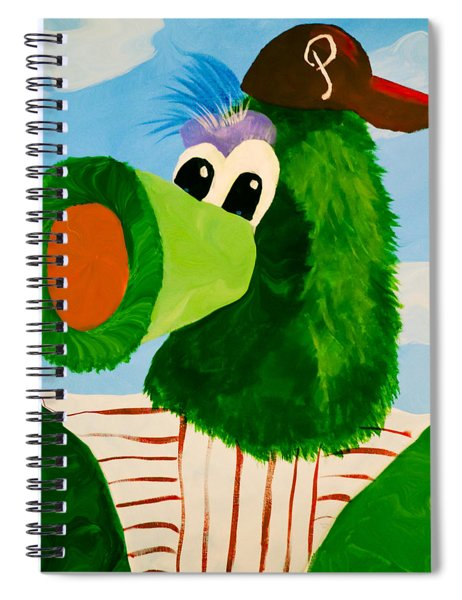 Philly Phanatic Spiral Notebook