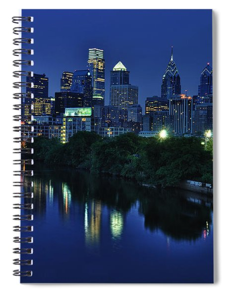 Philly Skyline Spiral Notebook