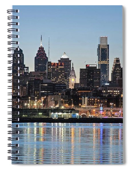 Philly Sunset Spiral Notebook