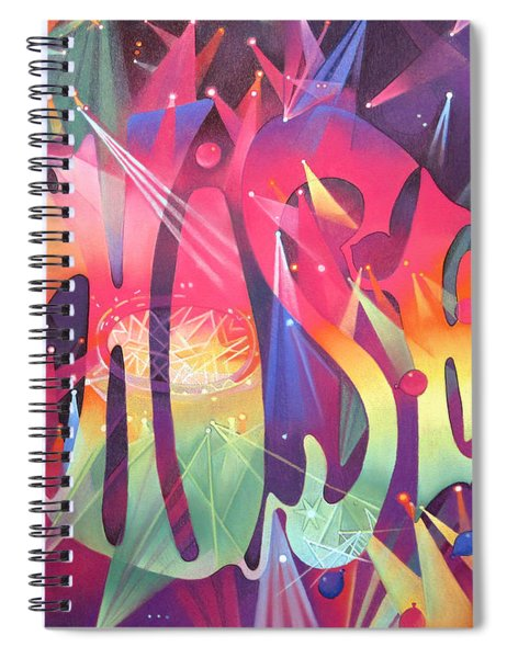 Phish The Mother Ship Spiral Notebook