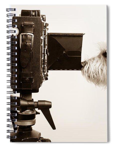 Pho Dog Grapher Spiral Notebook