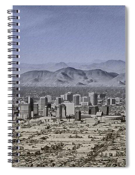 Phoenix Arizona Panorama Spiral Notebook