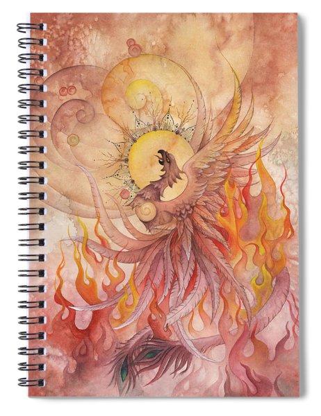 Phoenix Rising Spiral Notebook
