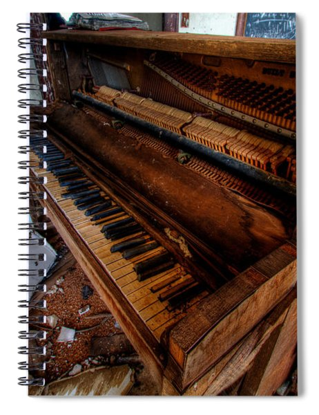 Piano Lessons Spiral Notebook
