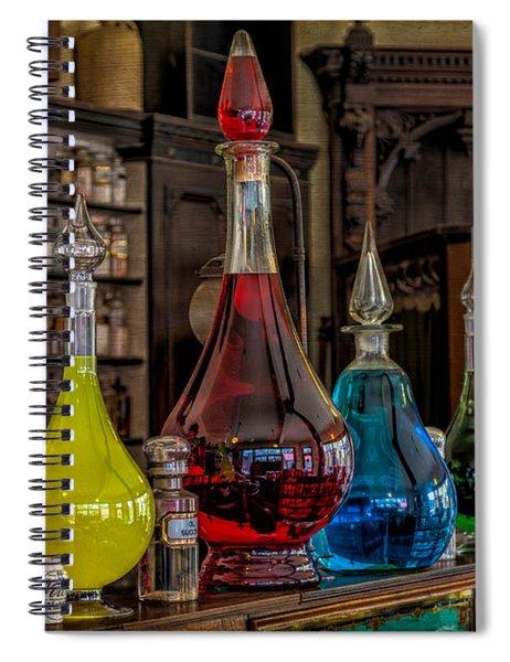 Pick An Elixir Spiral Notebook