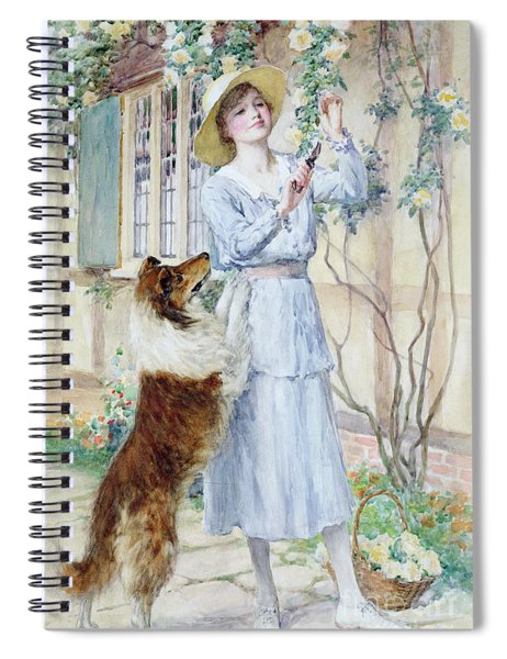 Picking Roses Spiral Notebook