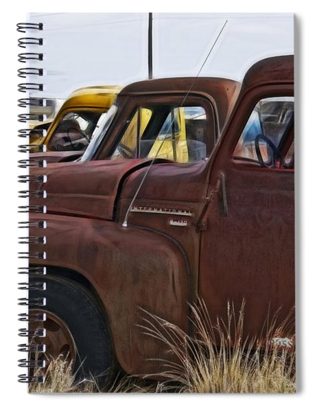 Pickup Cabs 2 Spiral Notebook
