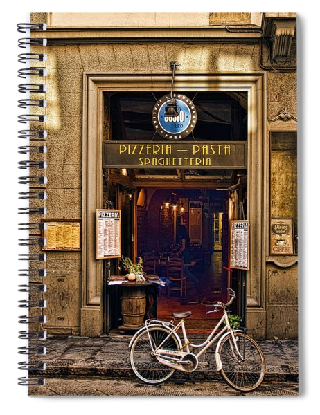 Pickup Or Delivery Spiral Notebook