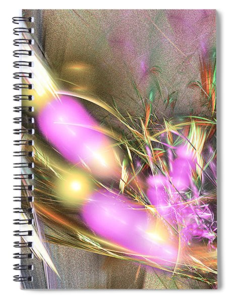 Picnic - Abstract Art Spiral Notebook