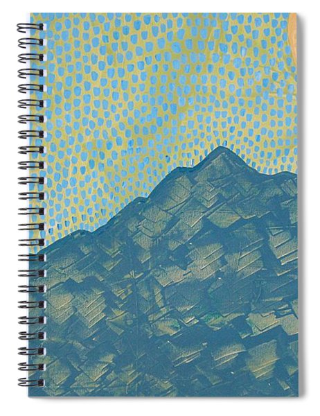 Picuris Mountains Original Painting Spiral Notebook