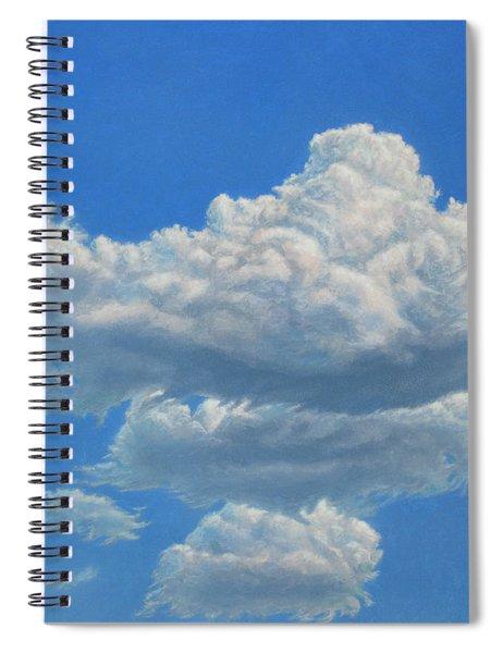 Piece Of Sky 3 Spiral Notebook