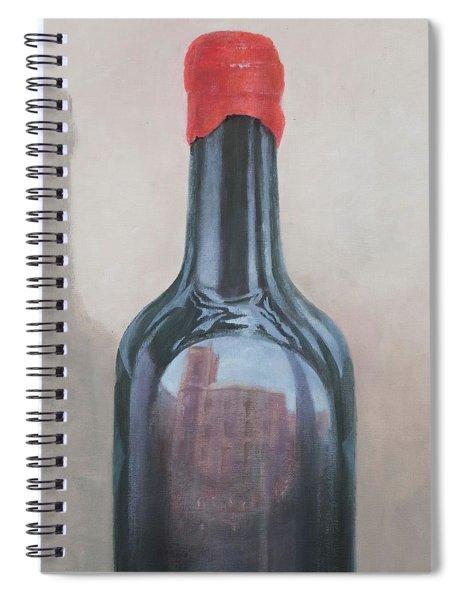Pienza Reflection Spiral Notebook