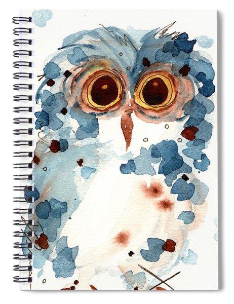 Pier 1 Owl Spiral Notebook