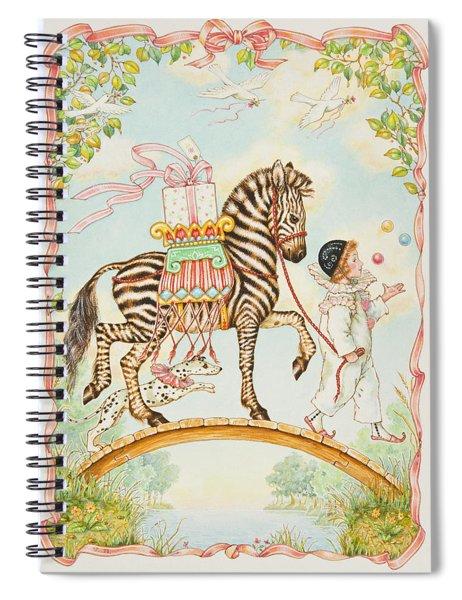Pierrot Spiral Notebook