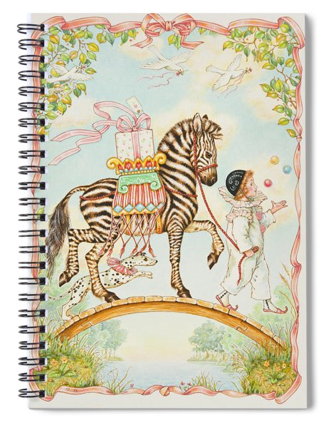 Pierrot Spiral Notebook