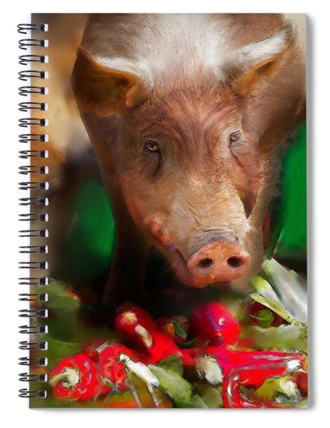 Pigs Spiral Notebook