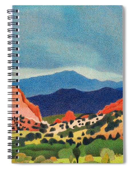 Garden Of The Gods Pikes Peak Spiral Notebook
