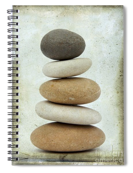 Pile Of Pebbles Spiral Notebook