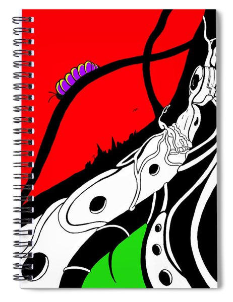 Pillar Of Hope Spiral Notebook