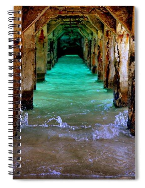 Pillars Of Time Spiral Notebook