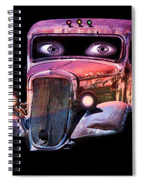 Pin Up Cars - #3 Spiral Notebook