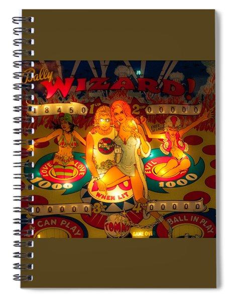 Pinball Wizard Tommy Vintage Spiral Notebook