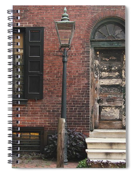 Pine Of Past Spiral Notebook