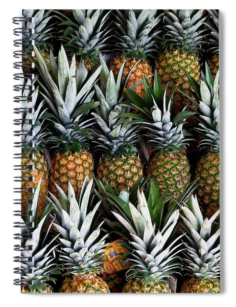 Pineapples  Spiral Notebook