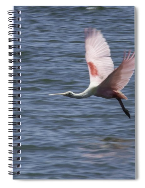 Pink And Blue IIi Spiral Notebook