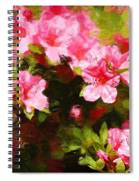 Pink Azealas Spiral Notebook