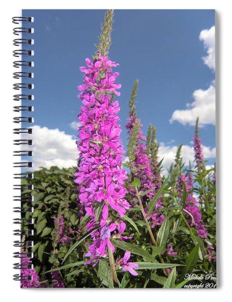 Pink Brilliance Spiral Notebook