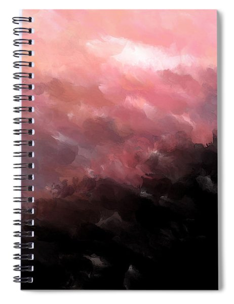 Pink Clouds Spiral Notebook