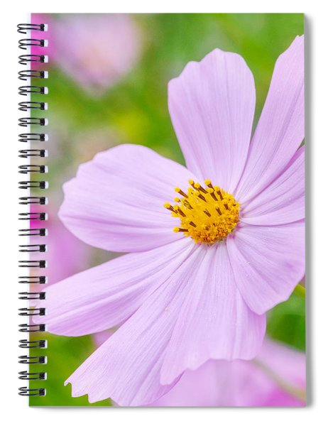 Spiral Notebook featuring the photograph Pink Flower  by Garvin Hunter