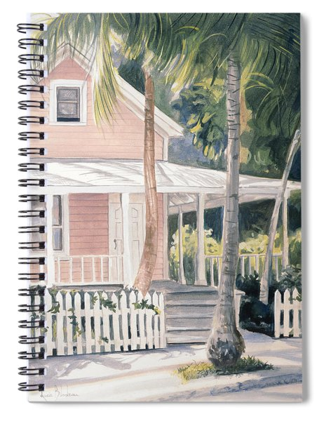 Pink House Spiral Notebook